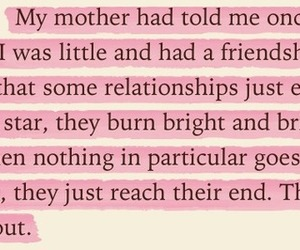 book, end, and friendship image