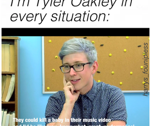 tyler oakley, liam payne, and niall horan image