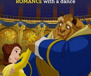 disney, beauty and the beast, and romance image