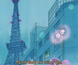 sailor moon, anime, and diary image