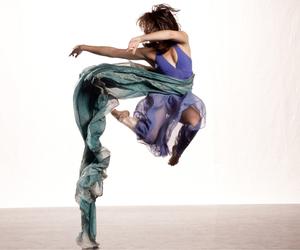 blue, modern dance, and dance image