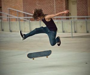 dope, skating, and stunt image