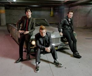 billie, car, and green day image