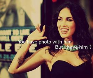 megan fox, quote, and bitch image