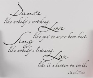 dance, sing, and love image
