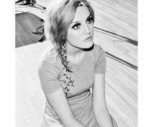 perrie edwards, little mix, and black and white image