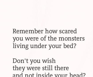 monster, childhood, and text image