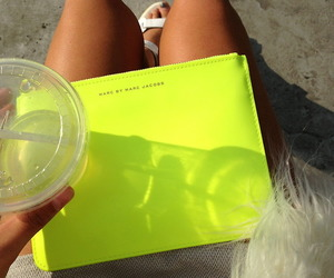 marc jacobs, fashion, and neon image