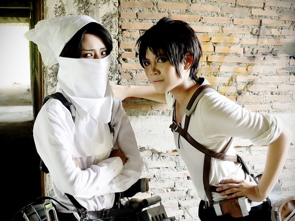 Cos Snk Happy Cleaning By Zhiryono On Deviantart