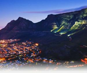 cape town at night image