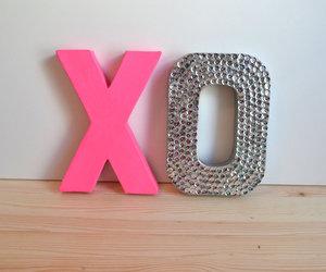 pink, xo, and kiss image