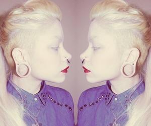 amazing, pastel, and platinum hair image