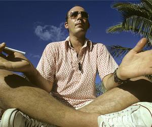 photo, portrait, and Hunter S. Thompson image