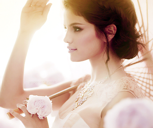 godess, photoshoot, and selena gomez image