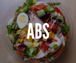 abs, healthy, and fitness image