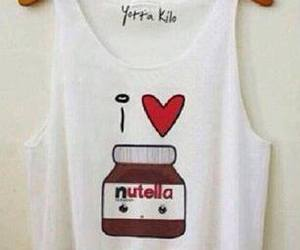nutella and t-shirt image