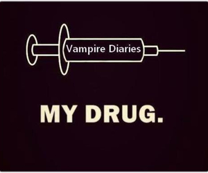 drugs, tvd, and Vampire Diaries image