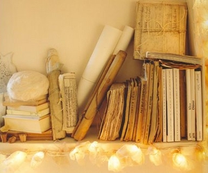 libros and vintage image
