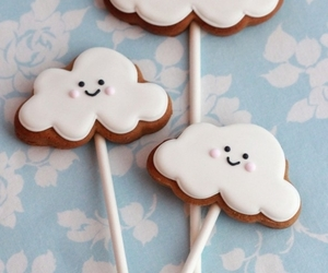 clouds, sweet, and Cookies image