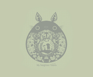 background, My Neighbor Totoro, and totoro image