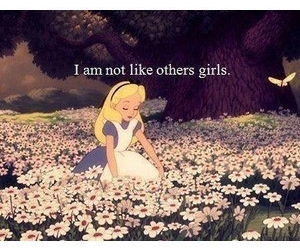 alice, flowers, and quote image