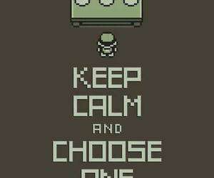 black and white, choose, and keep calm image