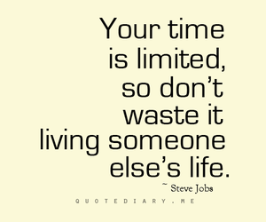 life, time, and waste image