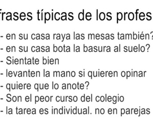 profes and frases tipicas image