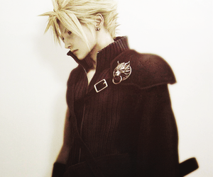 boy, cloud, and cloud strife image