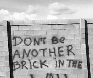 wall, Pink Floyd, and quotes image