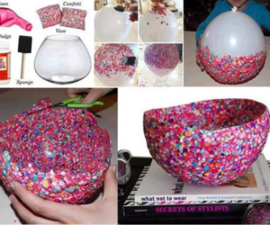 diy, confetti, and balloons image