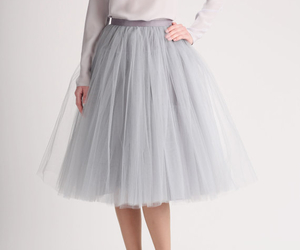 ballerina and tulle skirt image