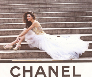 chanel, kendall jenner, and dress image