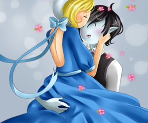 flowers, gaze, and adventure time image