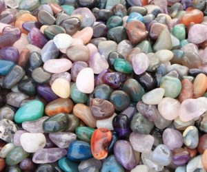 color, rocks, and pebbles image
