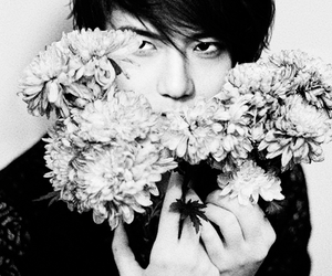 flowers, exo, and sehun image