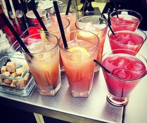 drink, summer, and party image