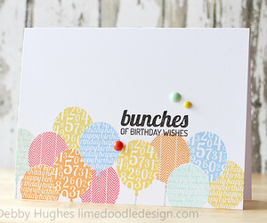 card, lime doodle design, and debby hughes image