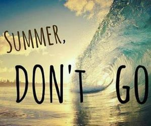 summer, beach, and don't go image