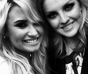 demi lovato, perrie edwards, and little mix image