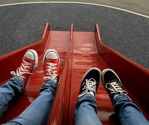 vans, converse, and photography image