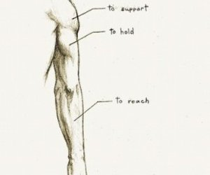 arm, support, and boy image