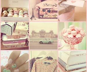 pink, nails, and vintage image