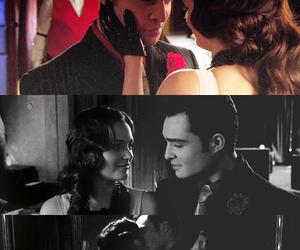 love, chuck and blair, and gossip girl image
