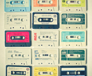 vintage, music, and cassette image