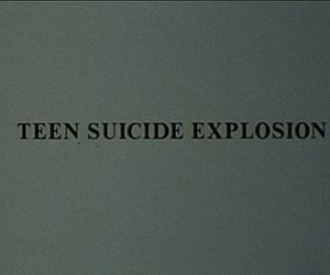 suicide, explosion, and teen image