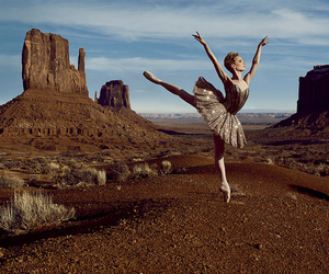 ballet, sarah lamb, and love image