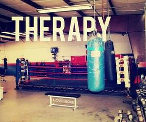 boxing, therapy, and fitness image