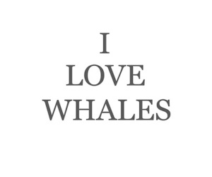 whales and love image