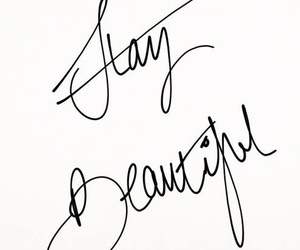 quote, beautiful, and stay beautiful image